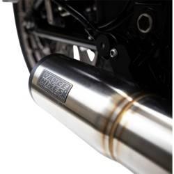 Ligne d'échappement Vance & Hines Hi-Output Short Silver 2:1 Softail M8 18 Up