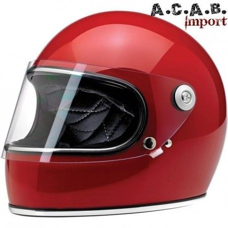 Casque Biltwell Gringo S gloss Blood Red