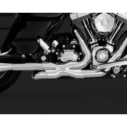 VANCE & HINES COLLECTEUR POWER DUALS TOURING 09/16 CHROME