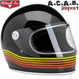 Casque Biltwell Gringo S LE Spectrum Gloss Black Orange