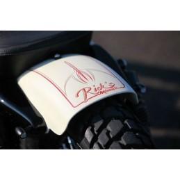 Garde boue arrière Rick's motorcycles XL bobber court