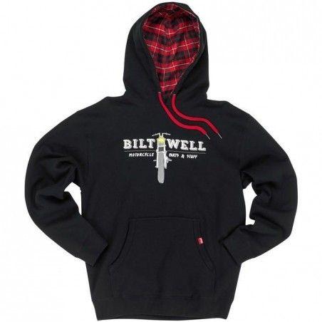 Sweat a capuche pullover hoodie black
