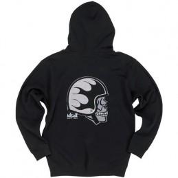 Sweat a capuche pullover hoodie black monkey Biltwell