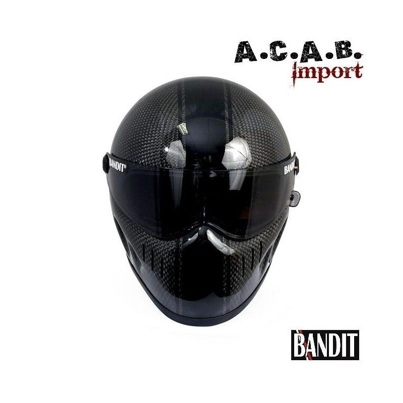 casque moto integral bandit xxr race carbon taille s 55 56. Black Bedroom Furniture Sets. Home Design Ideas