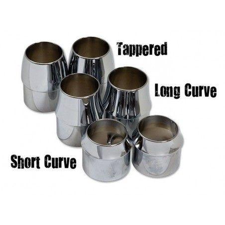 Embouts échappements Short curve 1 3-4''
