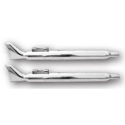 Silencieux Fishtail Chrome Tourer 95-12