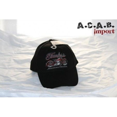 Casquette hot leather Timeless
