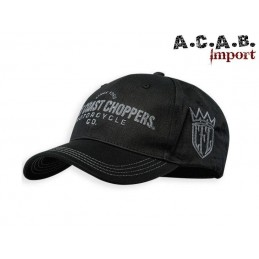 Casquette WCC Choppers For Life noire