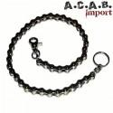 Chaine de porte feuille biker chaine de velo A.C.A.B. Import - 1