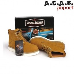 Chaussures montantes Jesse James boots craze marron
