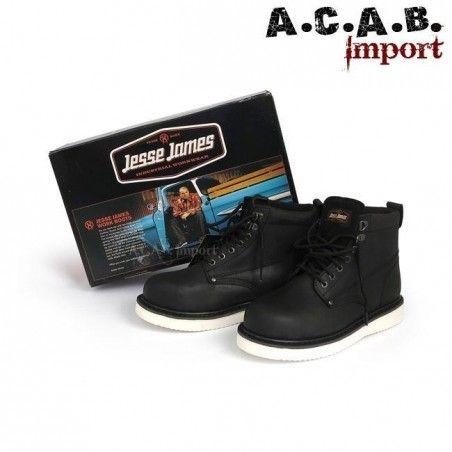 Chaussures montantes Jesse James boots craze noire