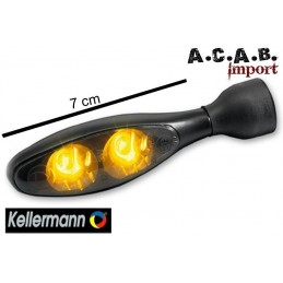 Clignotant à led Kellermann micro 1000 dark