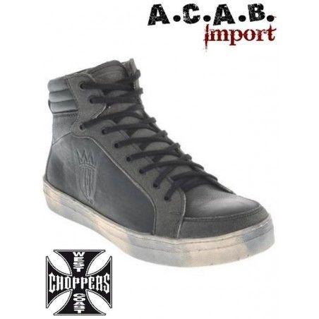Baskets Sneakers West Coast Choppers 'CFL' noir gris
