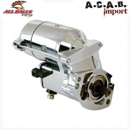 DÉMARREUR CHROME ALL BALLS 1.4KW BIG TWIN 89-06