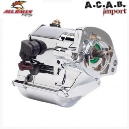 DÉMARREUR CHROME ALL BALLS 1.7KW BIG TWIN 89-06