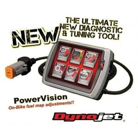 DYNOJET POWER VISION Harley Davidson injection 2001 2013 pv1
