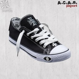 Basket West Coast Choppers Warriors Low-Top Black