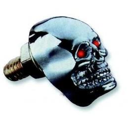 Boulon tête de Mort Skull Chrome