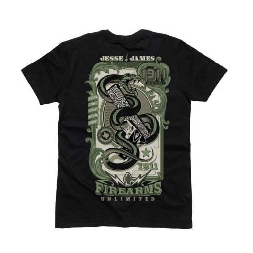 T-shirt Jesse James JJFU Greenback Tee